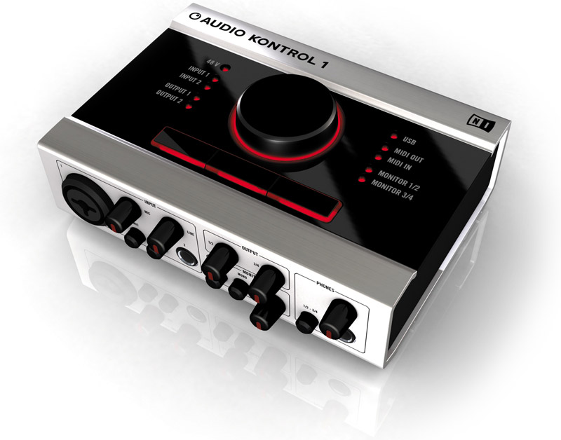 Audio Kontrol 1 - externe Soundkarte